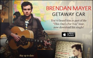"Bredan Mayer New Single ""Getaway Car"""