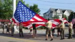 Mystic Scouts Raise Old Glory to Celebrate Flag Day