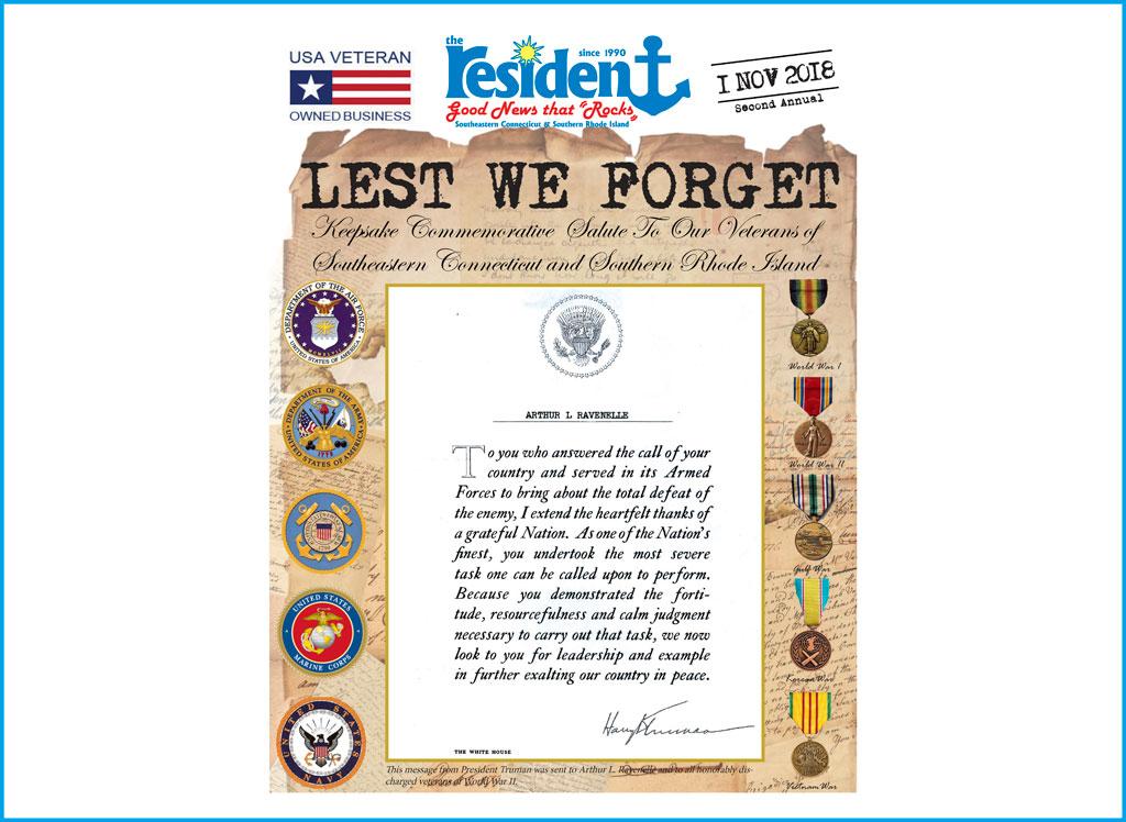 The Resident Veterans Insert October 31