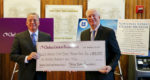 Chelsea Groton Foundation Check Donation to Coast Guard Museum